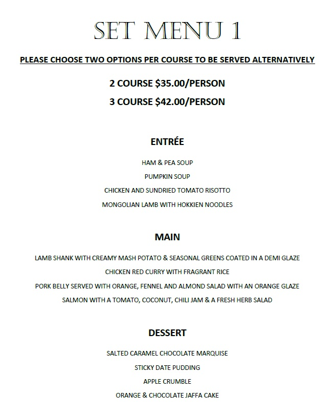 Dubbo Function Menu